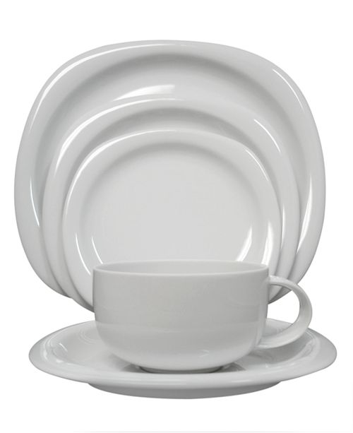 """Rosenthal """"Suomi White"""" 5-Piece Place Setting"""