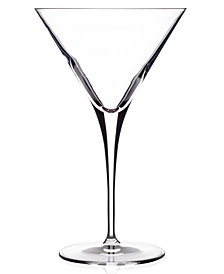 Luigi Bormioli Glassware, Set of 4 Crescendo Martini Glasses