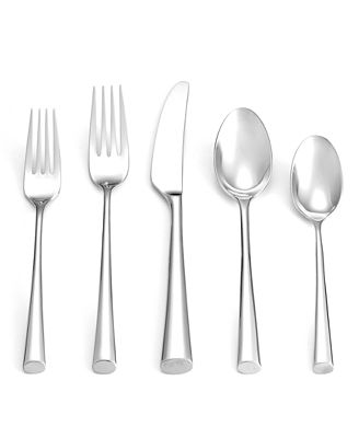 Dansk 18/10 Flatware, Bistro Café Stainless Flatware Collection