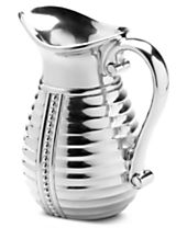 Wilton Armetale Flutes and Pearls Pitcher