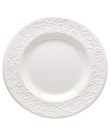 Dinnerware, Opal Innocence Carved Accent Plate