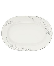 "Serveware, 14"" Birchwood Oval Platter"