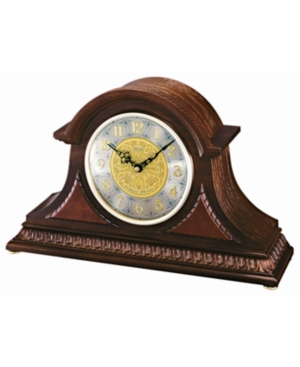 Seiko Solid Oak Mantel Clock QXJ003BLH