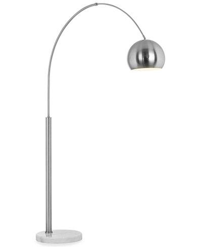 Pacific Coast Basque Arc Nickel Floor Lamp Lighting