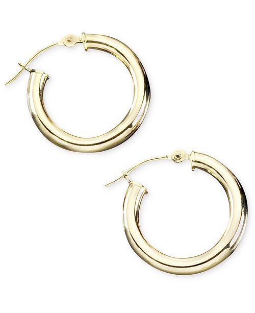 Macy S 14k Gold Hoop Earrings Reviews Earrings Jewelry