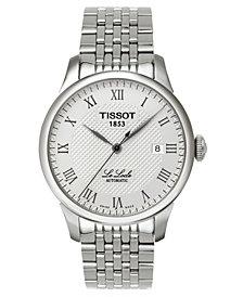 Tissot Men's Le Locle Automatic Stainless Steel Bracelet Watch T41148333