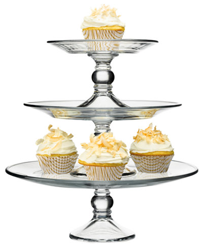 the cellar serveware stackable 3 tier cake stand serveware dining entertaining macy 39 s. Black Bedroom Furniture Sets. Home Design Ideas