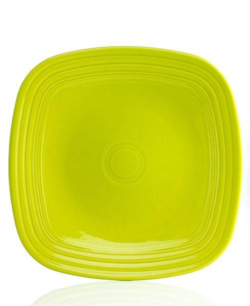 Fiesta Lemongrass Square Dinner Plate