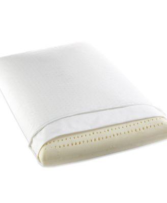 charter club latex foam pillow 200 thread count 100 cotton cover