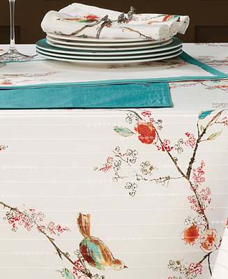 Lenox Chirp Collection Table Linens Dining