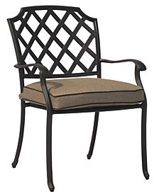 CLOSEOUT! Grove Hill Cast Aluminum Outdoor Dining Chairs, Created for Macy's