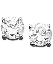 Cubic Zirconia Stud (1 ct. t.w.) Earrings, Created for Macy's