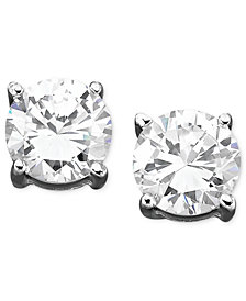 Danori Earrings, Cubic Zirconia Stud (1 ct. t.w.)
