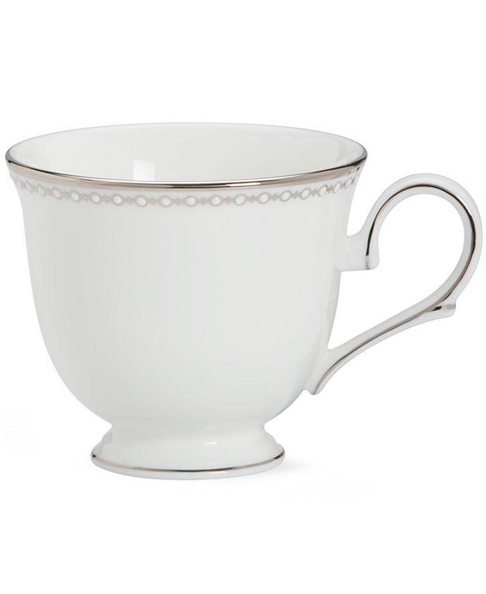 """Lenox - """"Pearl Platinum"""" Teacup"""