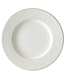 Waterford Ballet Icing Pearl Accent Salad Plate