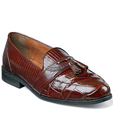 Stacy Adams Santana Printed Tassel Loafers
