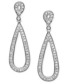 Danori Earrings, Crystal Teardop