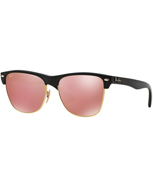 d55ca10b39c Ray-Ban CLUBMASTER OVERSIZED Sunglasses