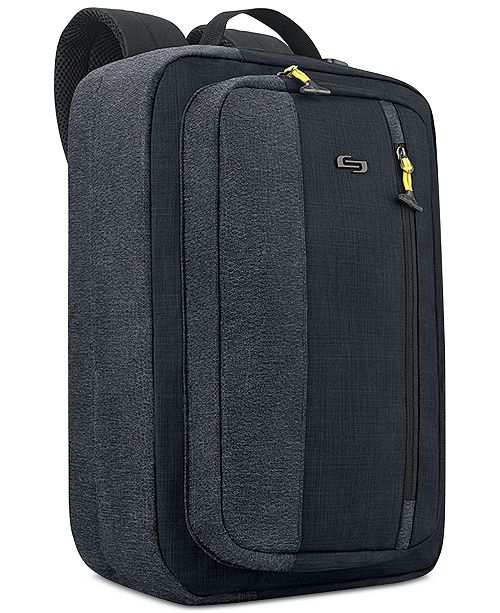 Solo Velocity Hybrid Backpack Briefcase Reviews Laptop Bags Briefcases Luggage Macy S