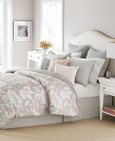 Martha Stewart Collection Shaded Garden 10-Pc. Comforter Sets, Created for Macy's