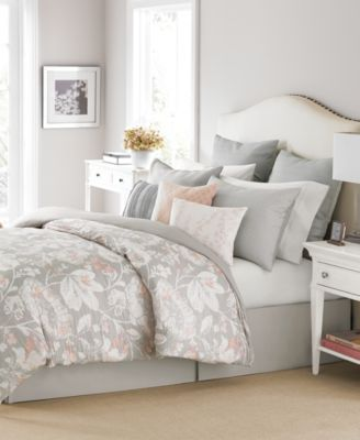 Martha Stewart Collection Shaded Garden 10 Pc. Queen Comforter Set, Created