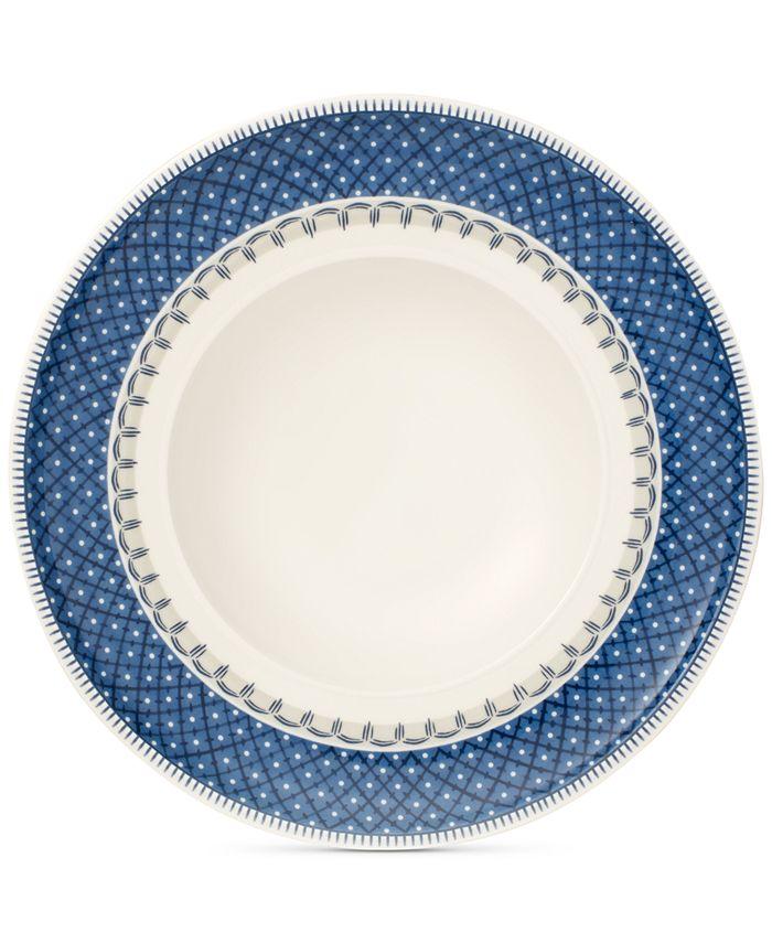 Villeroy & Boch - Casale Blu Rim Soup Bowl