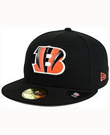 New Era Cincinnati Bengals Beveled Team 59FIFTY Cap