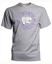 J America Men's Kansas State Wildcats Vintage Circle T-Shirt
