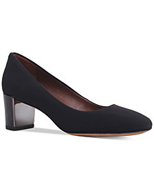 Donald Pliner Corin Block-Heel Pumps