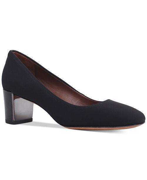 6ebea5ce82ad Donald Pliner Corin Block-Heel Pumps   Reviews - Pumps - Shoes - Macy s
