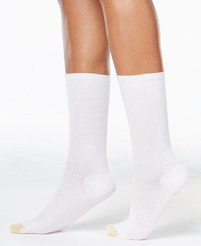 Gold Toe Women's 3-Pk. Non-Binding Short Crew Socks, also available in Extended Sizes
