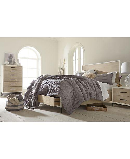 furniture closeout! avery storage platform bedroom furniture