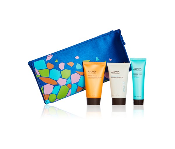 Receive a free 4-piece bonus gift with your $35 AHAVA purchase