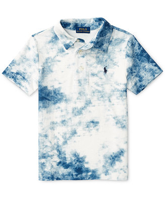 Ralph Lauren Tie Dye Polo Toddler Boys 2t 4t Amp Little