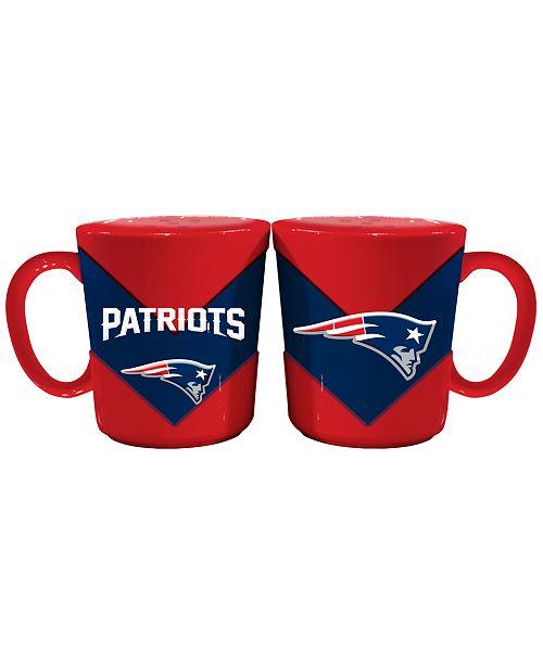 Memory Company New England Patriots Chevron Team Salt & Pepper Shakers