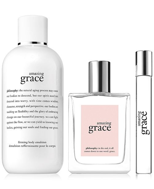3-Pc  Amazing Grace Fragrance Set, Created for Macy's
