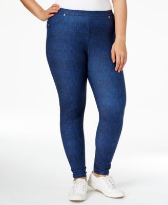 Plus Size Leggings: Shop Plus Size Leggings - Macy's