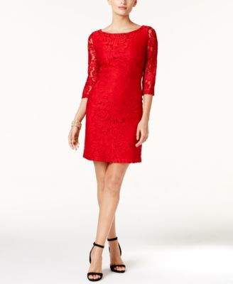 Ivanka Trump Lace Sheath Dress