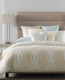 CLOSEOUT! Ogee Bedding Collection, Created for Macy's