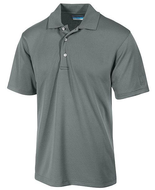 f93bc43441 PGA TOUR Men's Airflux Solid Golf Polo Shirt & Reviews - Polos - Men ...