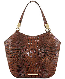 Brahmin Marianna Melbourne Embossed Leather Tote