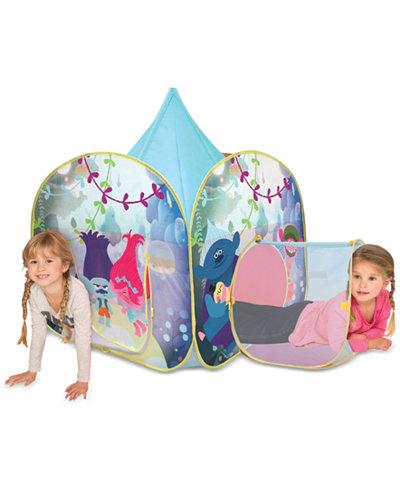 DreamWorks Trolls Play-Hut Kids Hair We Go Tent