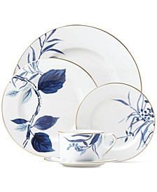 Birch Way Indigo Collection 5-Piece Place Setting