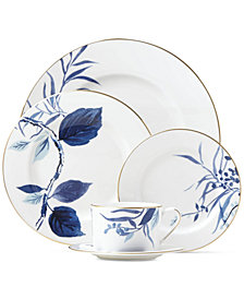 kate spade new york Birch Way Indigo Collection 5-Piece Place Setting