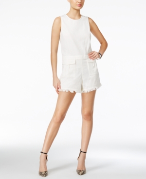 Vintage Rompers and Retro Playsuits Guess Sanne Cutoff Romper $54.99 AT vintagedancer.com