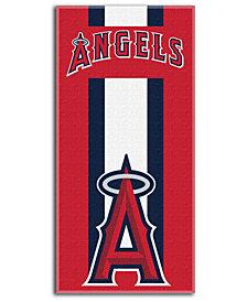 Northwest Company Los Angeles Angels of Anaheim Zone Read Beach Towel