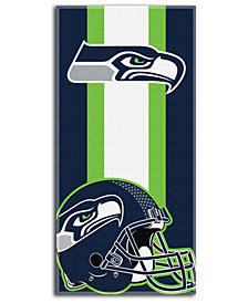 Northwest Company Seattle Seahawks NFL Zone Read Beach Towel