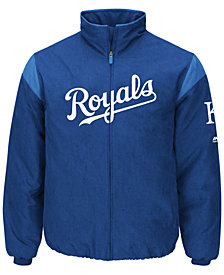 Majestic Men's Kansas City Royals On-Field Thermal Jacket