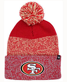'47 Brand San Francisco 49ers Static Cuff Pom Knit Hat