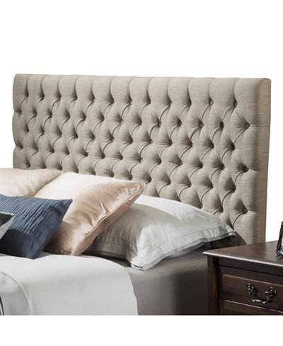 Gallow Tufted Full Queen Headboard Quick Ship Furniture